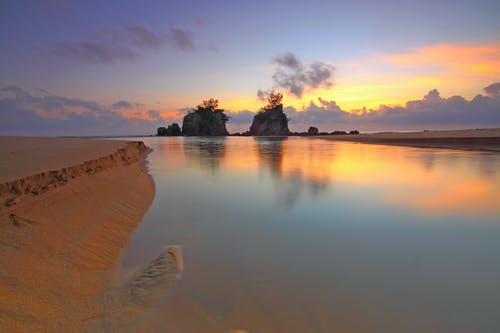 Gratis arkivbilde med daggry, fredelig, hav, havkyst