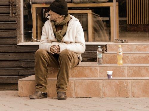 傷心, 冬季, 咖啡屋, 咖啡杯 的 免費圖庫相片