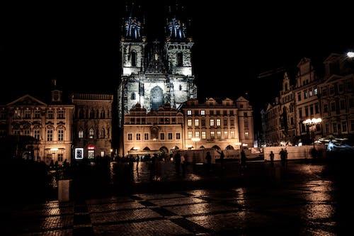 Free stock photo of city night