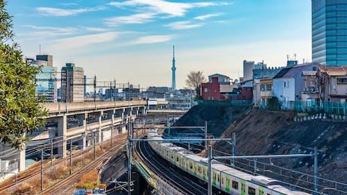 Fotos de stock gratuitas de ferrocarril, tokio skytree, 天气 之 子