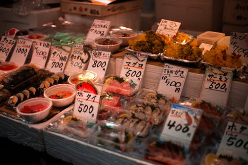 Free stock photo of food market, japanese culture, japanese food