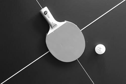 Foto profissional grátis de diagonal, pingue-pongue, tênis de mesa