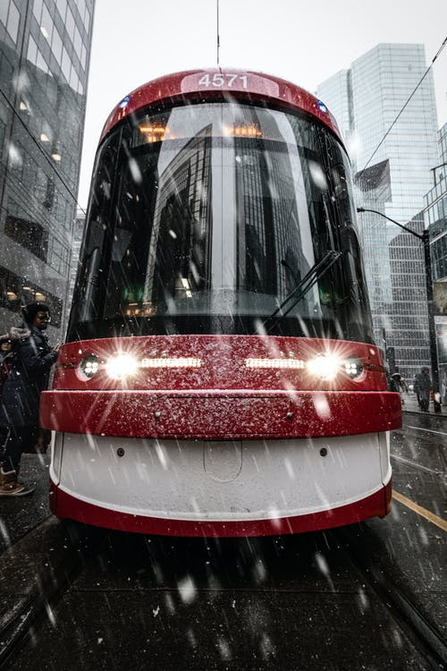 Ingyenes stockfotó downtown toronto, fényszórók, havas, havazás témában