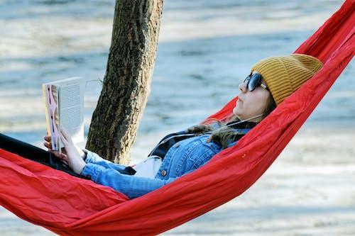 公園, 冬季, 吊床, 墨鏡 的 免費圖庫相片