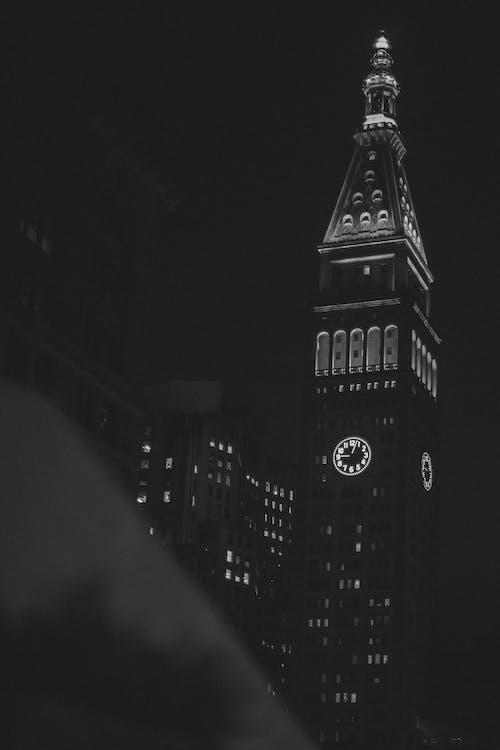 Free stock photo of cityscape, clock, clock tower