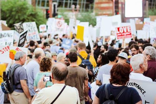 Δωρεάν στοκ φωτογραφιών με 20-25 ετών, διαδήλωση, διαδηλωτές, διαμαρτυρητής