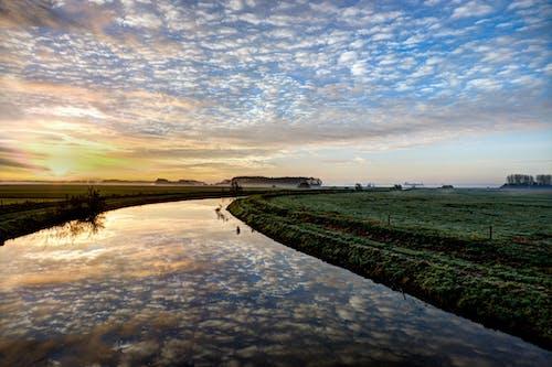 Imagine de stoc gratuită din nori, noros, reflexii
