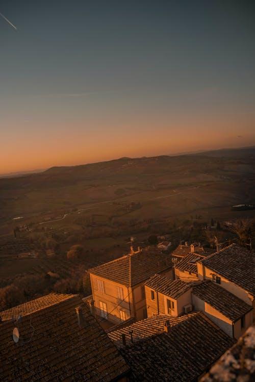 Free stock photo of beautiful sky, green, hills, panorama