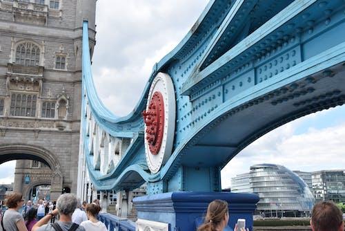 Immagine gratuita di azzurro, bello, e, ponte