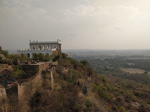 Free stock photo of Golconda, golconda fort, hyderabad