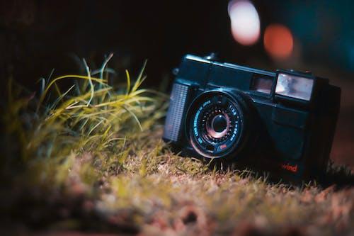 Free stock photo of camera, old camera, vintage camera