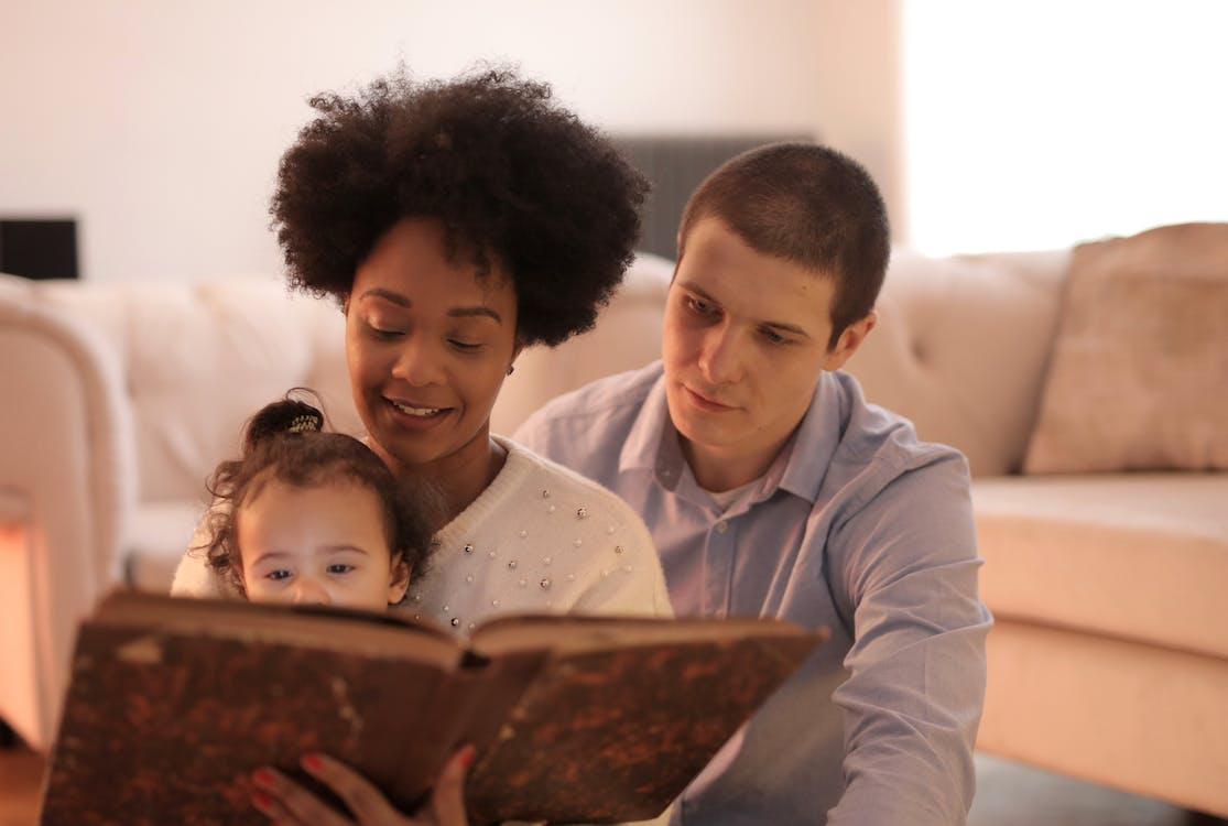 Family Reading Story Book