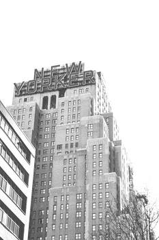Free stock photo of black-and-white, city, buildings, new york