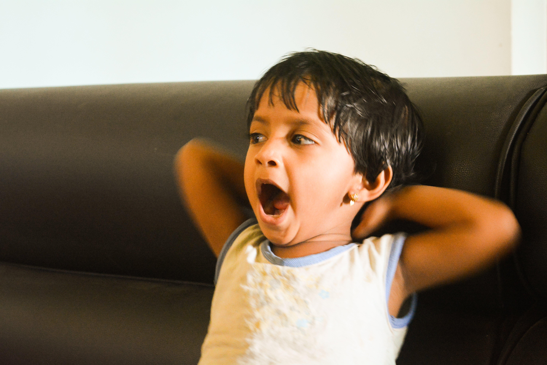 Free stock photo of baby, girl, kerala, lazy