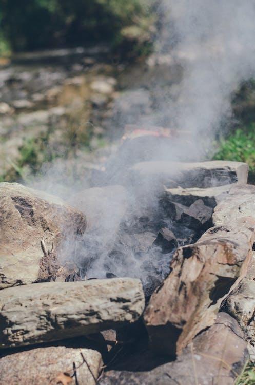 estiu, foguera, natura