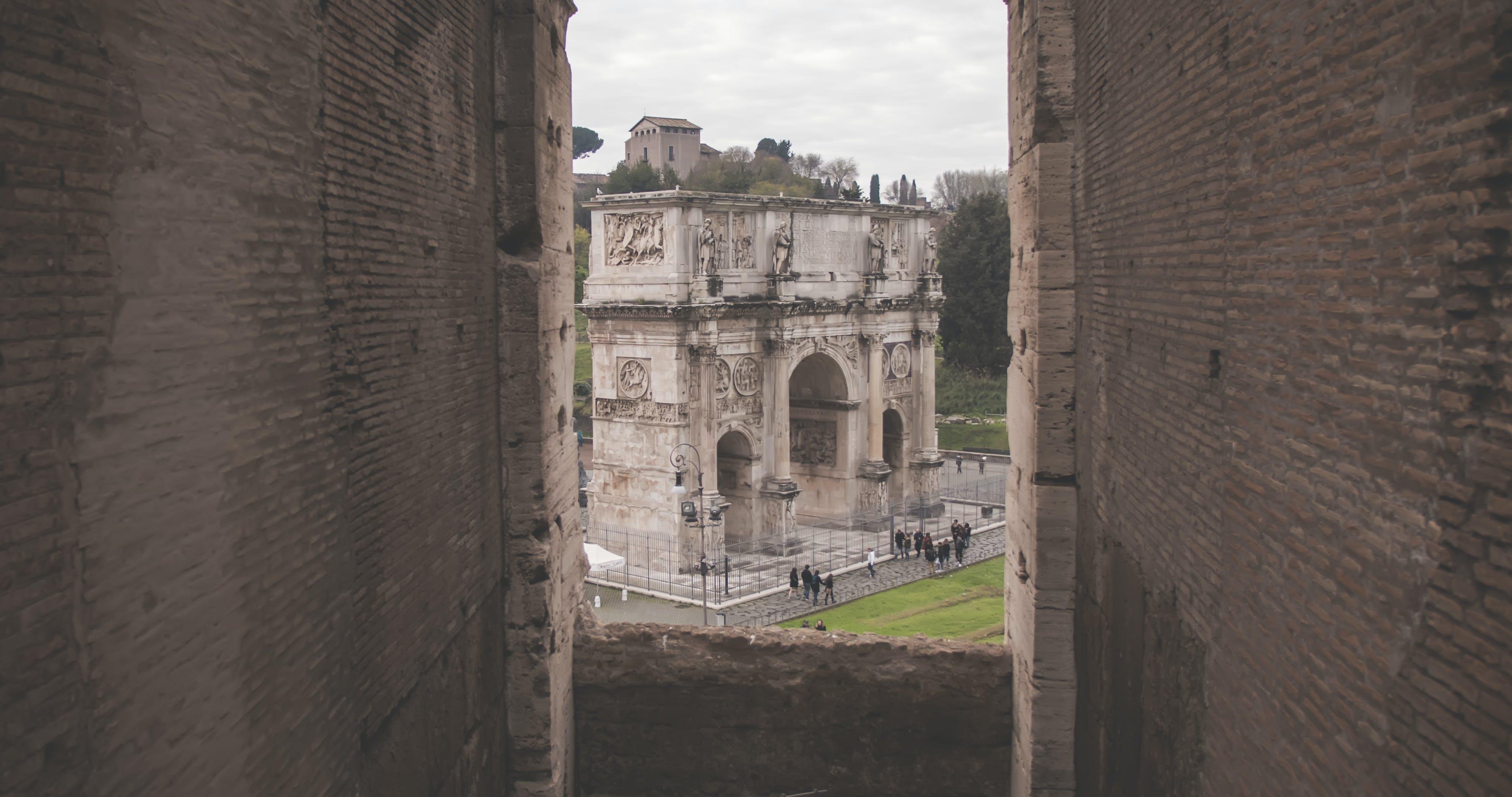 Fotos de stock gratuitas de antiguo, arco, arquitectura, castillo
