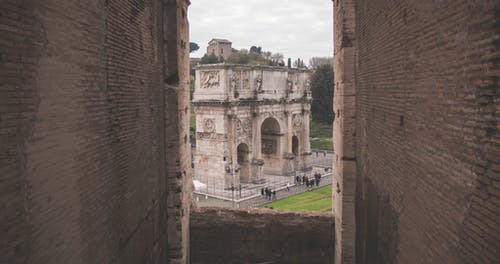 Ancient Arch in Rome