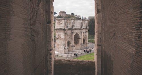 Бесплатное стоковое фото с Арка, архитектура, башня, город