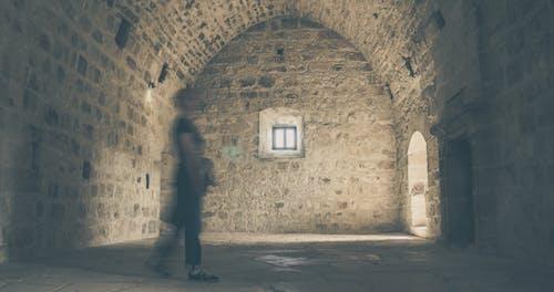 れんが, 中世, 城, 影の無料の写真素材