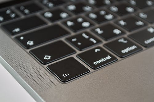 Close-Up Photo of Macbook Keyboard