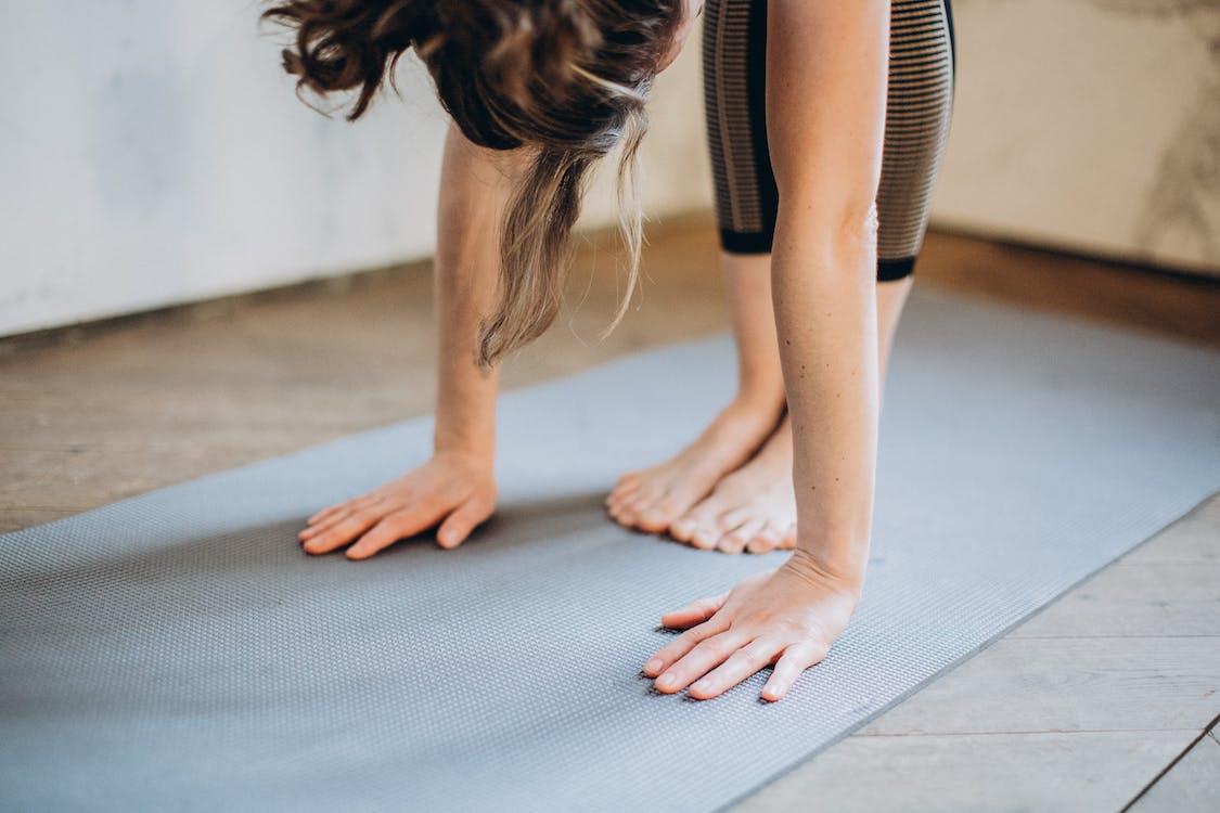Woman Bending Her Body