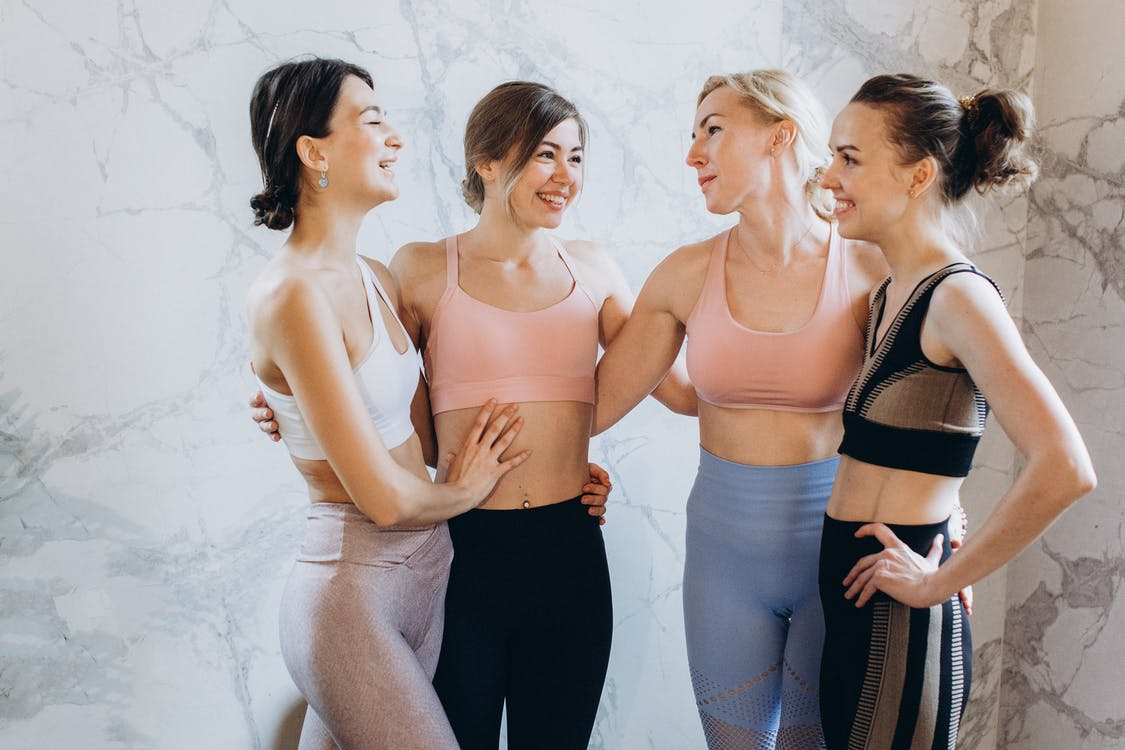 Group of Fit Female Friends