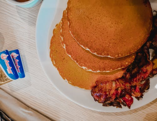Free stock photo of bacon, breakfast, buttercups, food