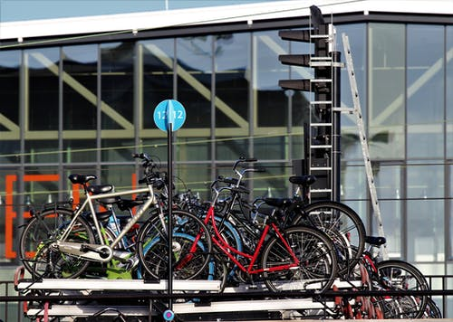 Bicycles in the Storage