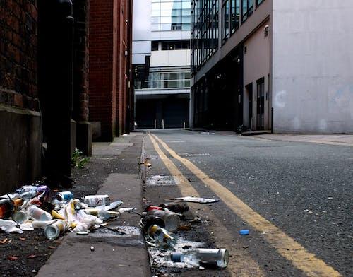 Foto profissional grátis de centro da cidade, lixo, manchado, manchester
