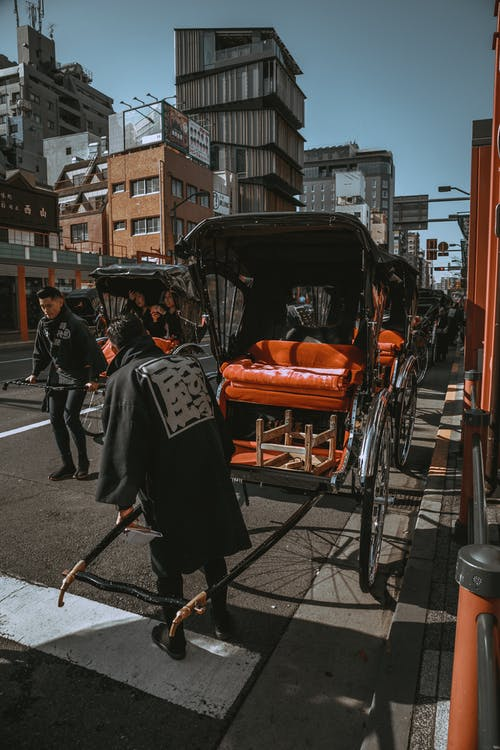 Free stock photo of big city, car, carousel