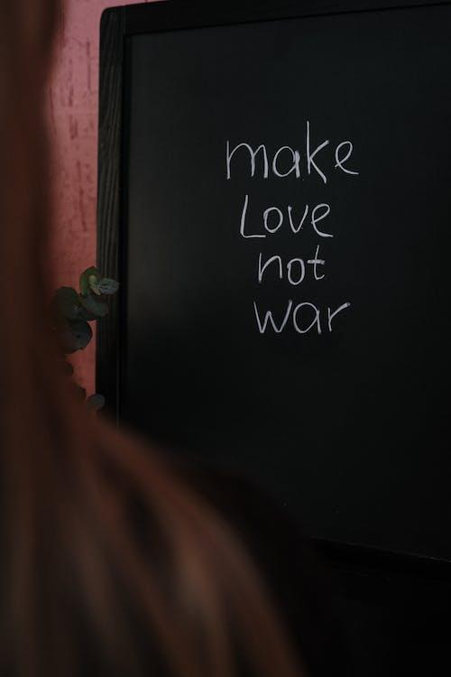 Text on Chalkboard