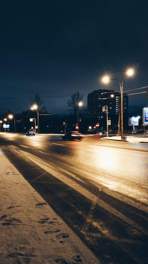 Gratis stockfoto met avond, stad nacht, straat