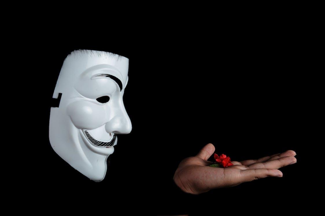 aktivista, anonymný, človek