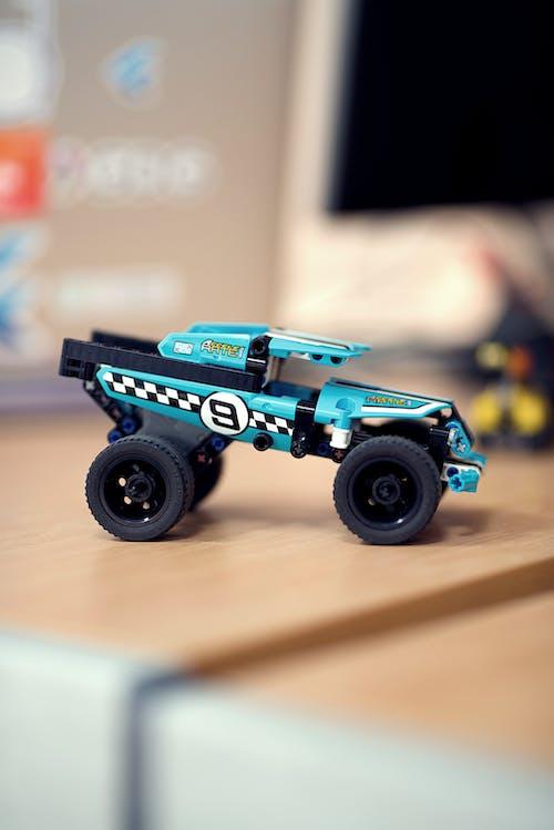 Free stock photo of bokeh, car, kids, lego
