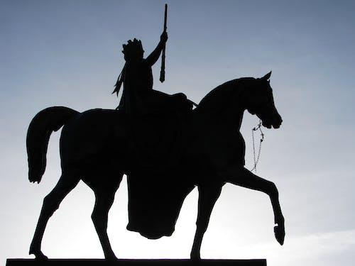 Darmowe zdjęcie z galerii z koń, pomnik, posąg, rzeźba