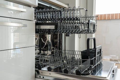 Empty Rack of Dishwasher