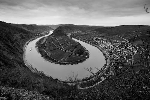 moselschleife, wein, 摩泽尔, 河 的 免费素材图片