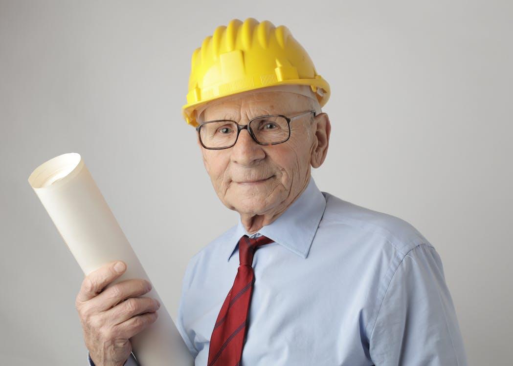 Man In Dress Shirt Wearing Eyeglasses