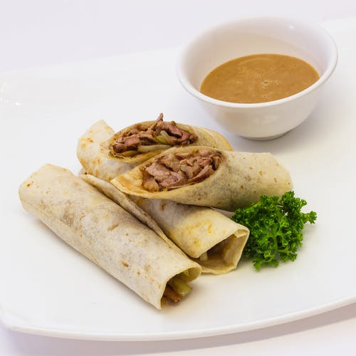 Free stock photo of burrito, mexican food, spicy