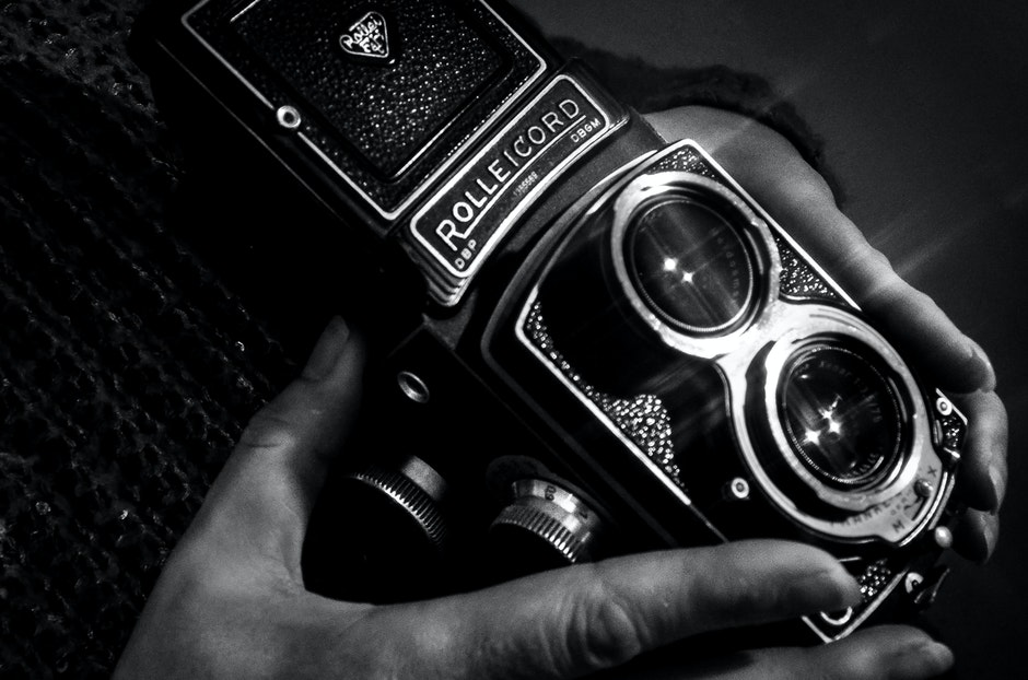 analog camera, glare, photography