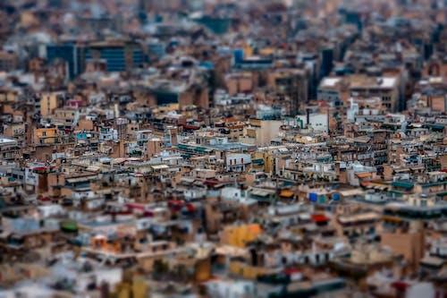 Foto profissional grátis de aéreo, aerofotografia, antena, área urbana