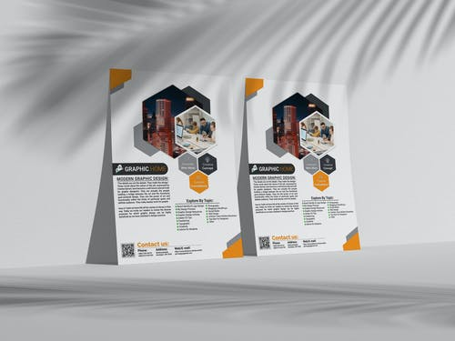 Free stock photo of modern art, Modern business flyer, Pervez Joarder, pervezpjs