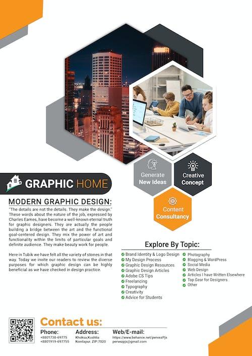 Free stock photo of art, business, business flyer, digital marketing