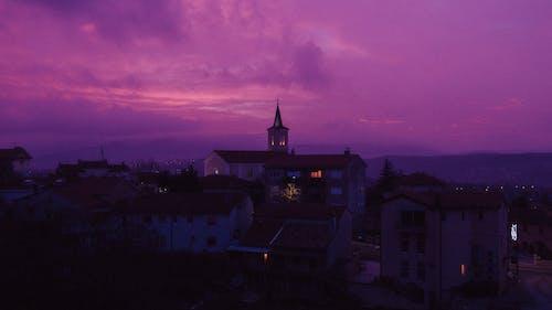 Immagine gratuita di alba, architettura, bel cielo, caldo