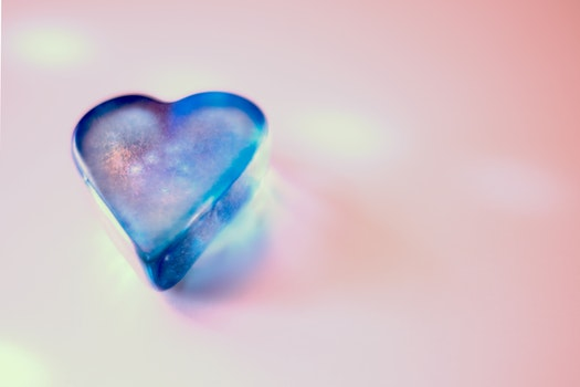 Free stock photo of love, art, heart, blue