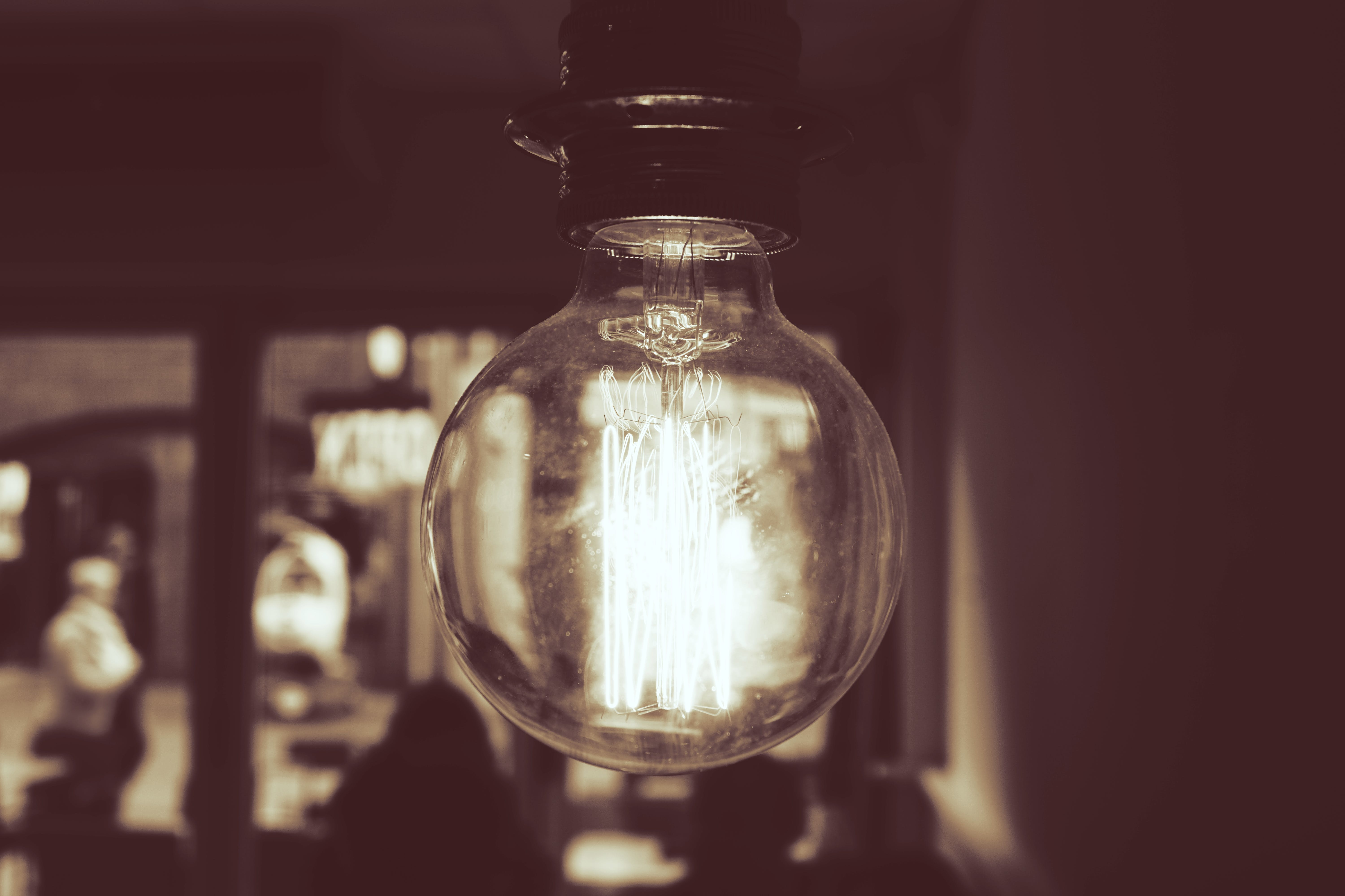 Photography of Light Bulb