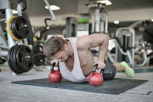 Δωρεάν στοκ φωτογραφιών με bodybuilder, bodybuilding, copy space