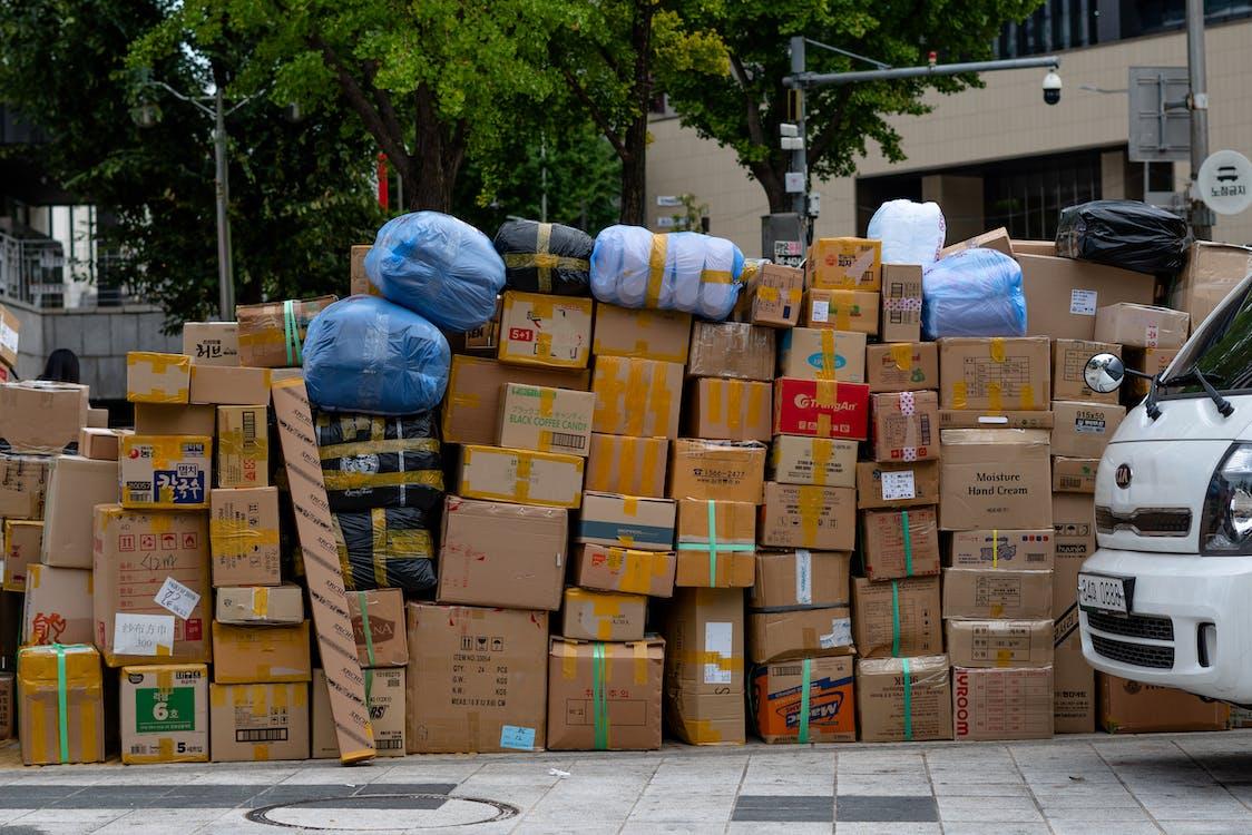 Free stock photo of asia, delivery, korea