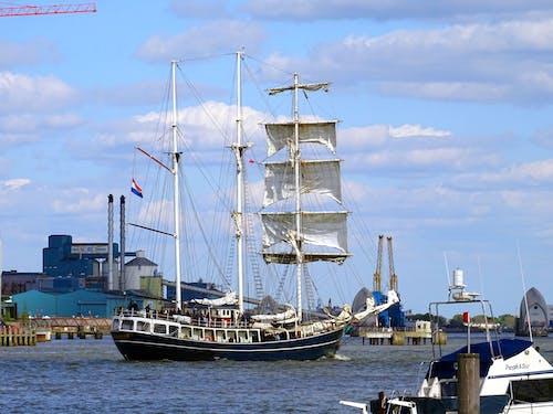 Fotobanka sbezplatnými fotkami na tému denné svetlo, dok, dopravný systém, jachta