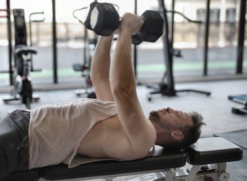 Imagine de stoc gratuită din antrenament, compatibil, culturist, echipament de fitness
